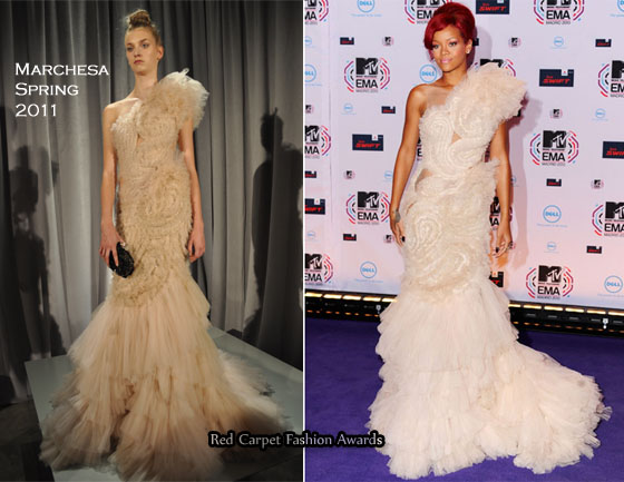 rihanna fashion 2011. RIHANNA IS THE FIRST CELEB IN
